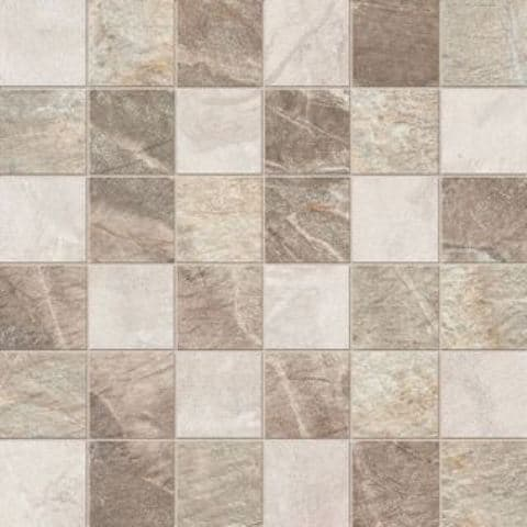 Керамическая плитка Mosaico Quadretti Mix Cream/Beige/Brown 30х30 Керамогранит